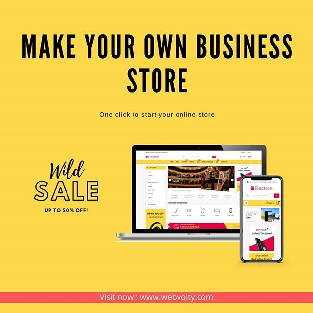 We help all people who want the actual #ecommerce #business so what are you waiting visit https://www.webvolty.com